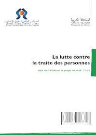 Avis du Conseil national des droits de l'Homme sur le projet de loi n° 27.14 relatif à la lutte contre la traite des personnes