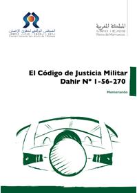 El Código de Justicia Militar : El Dahir Nº 1-56-270