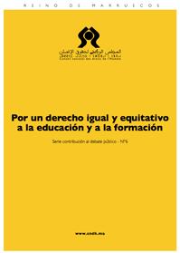 Por un derecho igual y equitativo a la educación y a la formación